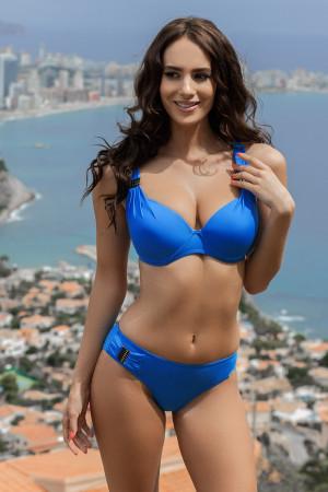 Dámské dvoudílné plavky Alex Blue modrá