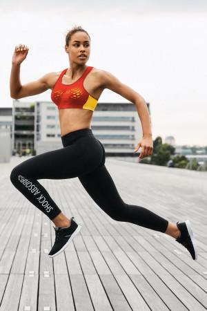 Dámské sportovní legíny Active černá