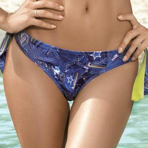 Spodní díl dámských plavek Selena Green barevná
