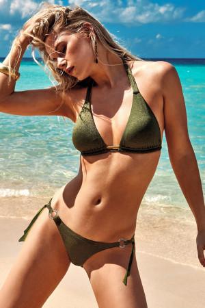 Dámské dvoudílné plavky Samanta I zelená