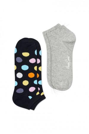 Happy Socks - Kotníkové ponožky Big Dot (2-pak)