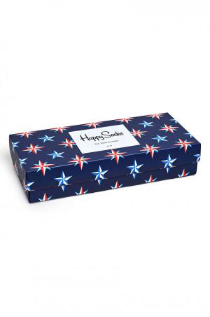 Happy Socks - Ponožky Nautical Gift Box (4-pak)