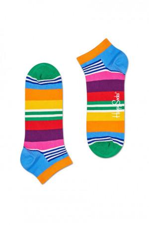 Happy Socks - Kotníkové ponožky Multi Stripe