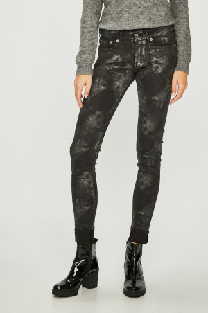 Pepe Jeans - Kalhoty Pixie Silvermoon