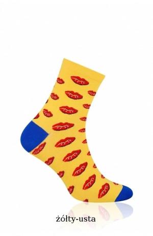 Dámské ponožky More 078 modrofialová 39-42