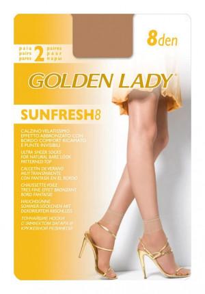 Ponožky Golden Lady Sunfresh 8 den A'2 odstín béžové univerzální