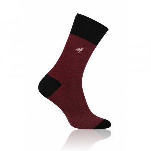 Pánské ponožky More Elegant 051 hnědá 39-42