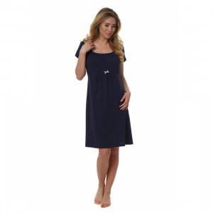Těhotenská noční košile Dagna - Italian Fashion tmavě modrá