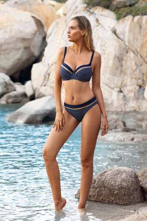 Dámské plavky Sardynia S940VGR6 - Self modrá-puntík