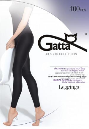 Dámské legíny Gatta Microfibra 100 den černá 3-M