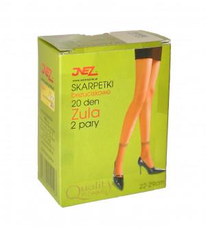 Dámské netlačící ponožky Inez Zula Elastil A'2 daino univerzální