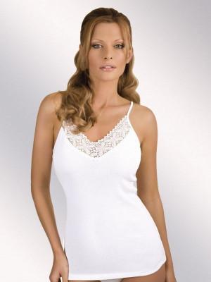 Bílá dámská košilka Eldar Julita S-XL bílá