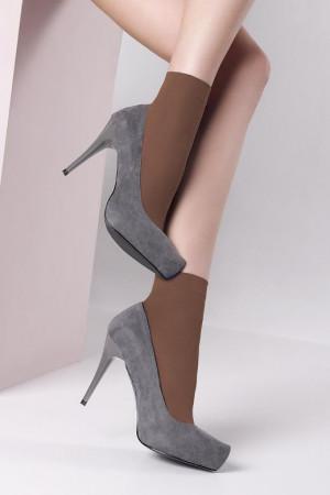 Dámské ponožky Mona Bella 40 den tm.šedá/odstín šedé univerzální