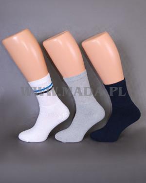 Ponožky E&E  024 A'5 bílá 39-42
