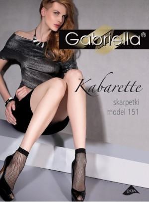 Dámské ponožky Gabriella kabaretky 151 béžová/odstín béžové univerzální