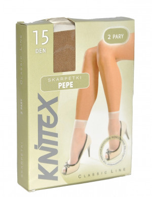 Dámské ponožky Knittex Pepe A'2 béžová/odstín béžové univerzální