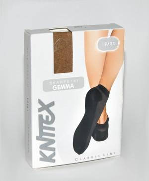 Ponožky Knittex Gemma béžová univerzální