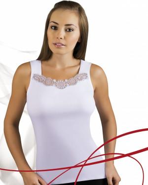 Bílá dámská košilka Emili Milia S-XL bílá