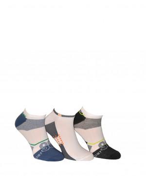 Pánské ponožky Bratex Active Sport 0129 tmavá-mix vzorů 39-41
