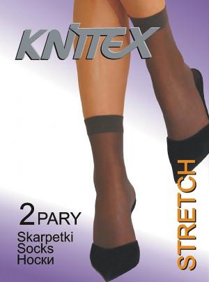 Dámské silonkové ponožky Knittex Stretch A'2 béžová univerzální
