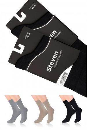 Pánské ponožky Steven Elegant art.107 béžová 42-44