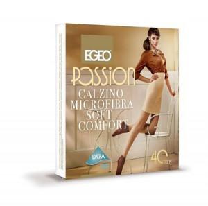 Ponožky Egeo Passion Microfibra Soft Comfort 40 den antracit/odstín šedé univerzální