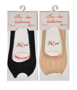 Dámské ponožky baleríny Risocks Toe-less art.5692211 béžová 36-41