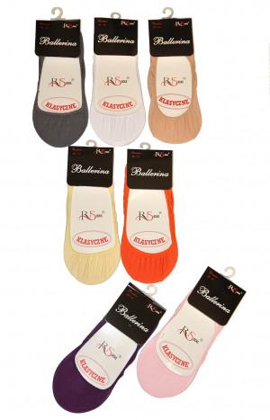 Dámské ponožky baleríny Risocks Ballerina art.5691696 bílá 36-41
