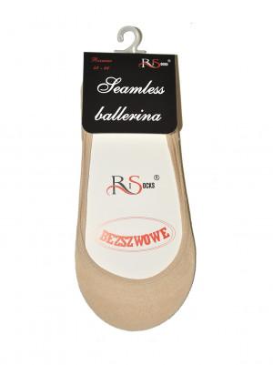 Bezešvé dámské ponožky baleríny Risocks Ballerina Art.5692235 černá 42-46
