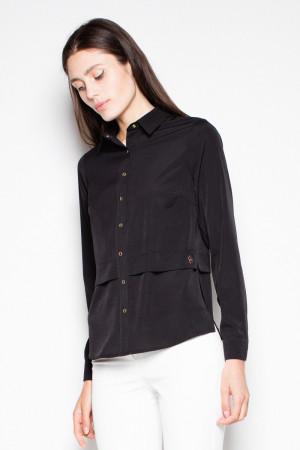 Dámská košile VT027 - Venaton  černá