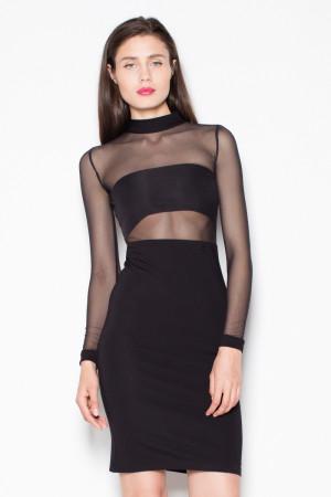 Dámské šaty VT064 - Venaton  černá