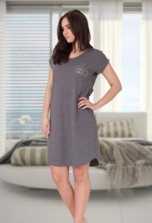 M-Max Berta 640 Noční košile S Liliový melanž