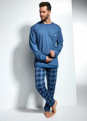 Cornette 115/120 Varsity Pánské pyžamo M modrá