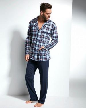 Cornette 114/31 Pánské pyžamo M tmavě modrá