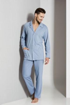 Regina 265A '18 Pánské pyžamo plus XXL béžová