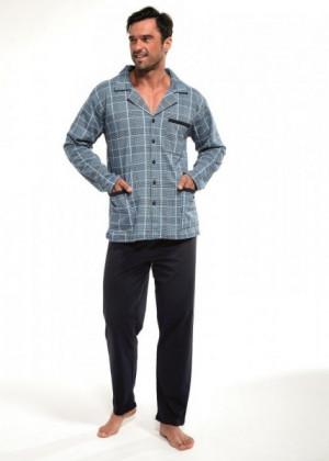 Cornette 114/39 Pánské pyžamo L jeans
