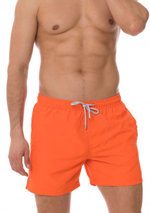 Pánské plavky John Frank JFSS19SW01 XL Oranžová