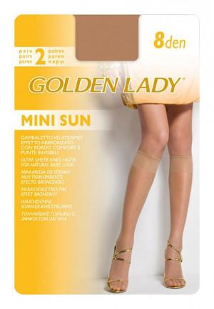 Dámské podkolenky Golden Lady Mini Sun 8 den A'2 odstín béžové univerzální
