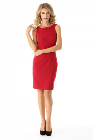 Dámské šaty ED06-1 - Ella Dora  červená