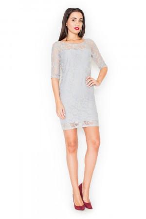 Dámské šaty K109 grey