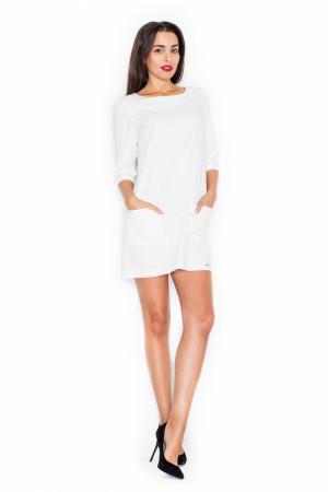 Dámské šaty K316 ecru