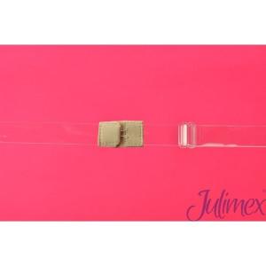 Jednořadový transparentní pásek snižující zapínání Julimex BA 05  průhledná univerzální