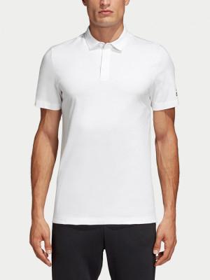Tričko adidas Performance Mh Plain Polo Bílá