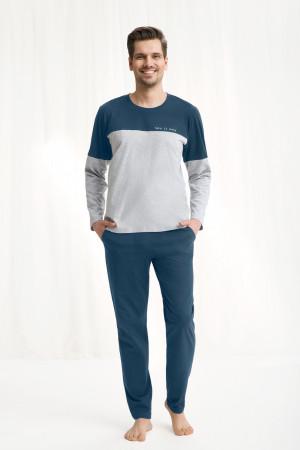 Pánské pyžamo 774 bordó 2XL