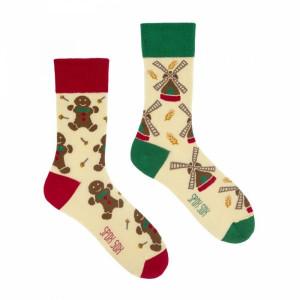 Spox Sox The mystery of a Gingerbread and a Windmill Ponožky 40-43 vícebarevná
