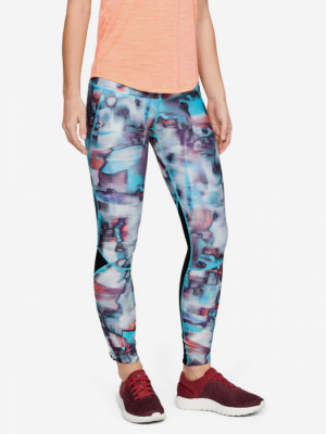 Kompresní legíny Under Armour Fly Fast Printed Tight-Blk Barevná
