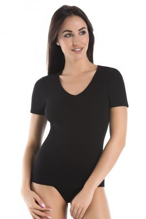 Dámské bavlněné tričko Pilan černá