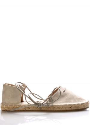 Šedé espadrilové sandály Monshoe