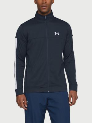Bunda Under Armour Sportstyle Pique Track Jacket Modrá