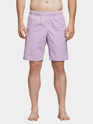 Boardshortky adidas Originals 3-Stripes Swim Růžová